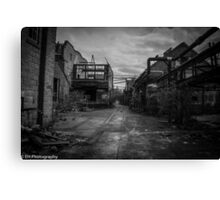 Warehouse District Canvas Print