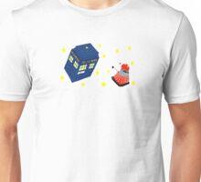 Doctor who tardis + Dalek battle  Unisex T-Shirt