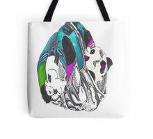 Pandas keep it playful Tote Bag