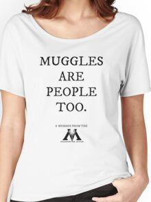 Muggles Women's Relaxed Fit T-Shirt