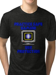 Use Protection Tri-blend T-Shirt