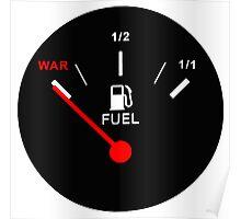 Oil war Poster