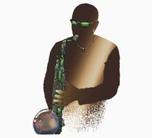 Blues Saxophone Man by Bluesax