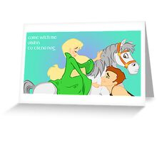Come with me to Tir na nOg Greeting Card