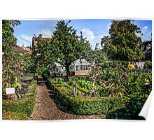 Behind the Walled Garden Poster