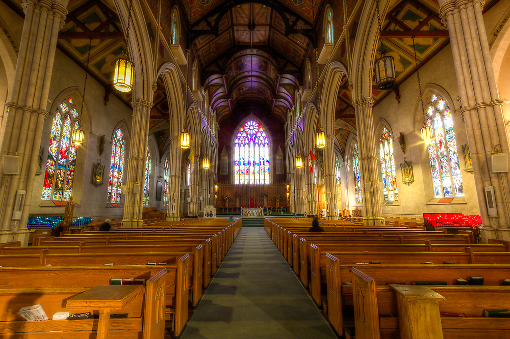 Inside St. Michael's Cathedral by John Velocci
