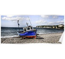 Shingle Beach of Seaton Poster