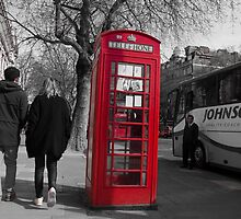 Red Phonebox by Eh-photography