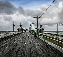 Blackpool North Pier by Chris L Smith