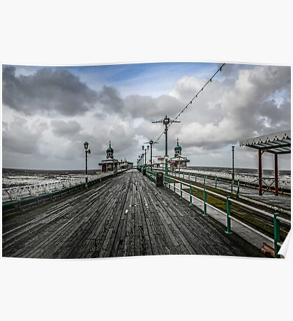 Blackpool North Pier Poster