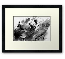 abstract scenery no.2 Framed Print