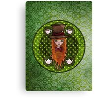 The Hatter Canvas Print