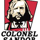 Colonel Sandor Game of Thrones Inspired T-shirt Design by unheles