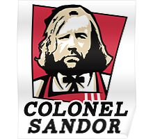 Colonel Sandor Game of Thrones Inspired T-shirt Design Poster