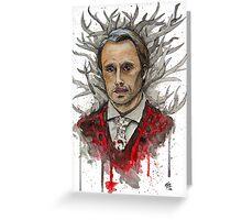 Shika (Hannibal) Greeting Card