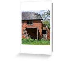Dilapidated Greeting Card