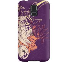 Graphic composition composed of tulips and narcissus Samsung Galaxy Case/Skin