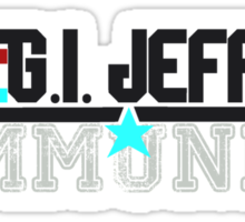 GI JEFF Sticker