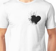 Black Heart Unisex T-Shirt