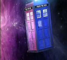 TARDIS by savageblasian
