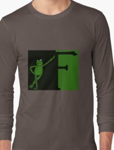 F is for Frog Colour. Long Sleeve T-Shirt