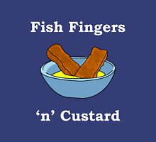 Fish Fingers 'N' Custard. Unisex T-Shirt