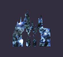 Hogwarts Silhouette Blue. Unisex T-Shirt