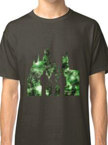 Hogwarts Silhouette Green. Classic T-Shirt