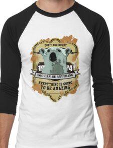 Don't You Worry  Men's Baseball ¾ T-Shirt