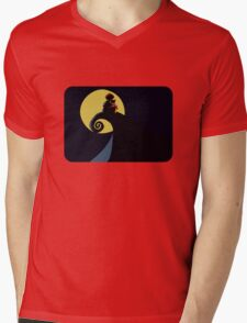 Nightmare at the Acre Wood. Mens V-Neck T-Shirt