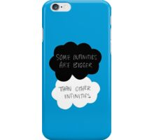 The Fault in Our Stars - Some Infinities Are Bigger Than Other Infinities iPhone Case/Skin