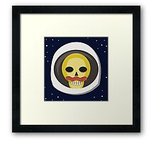 Bacon and Space Eggsploration Framed Print