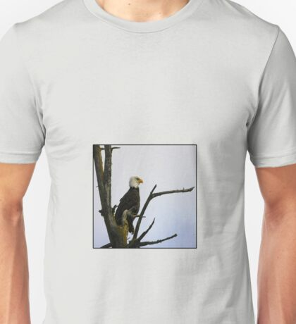 eagle striking a pose (square) Unisex T-Shirt