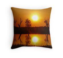 Outback Reflections, Kakadu National Park Throw Pillow