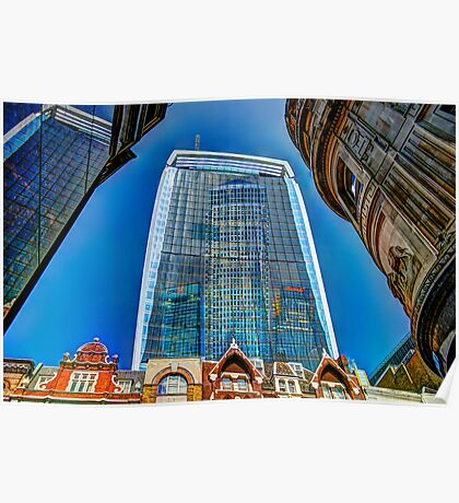 The Walkie Talkie - London Poster