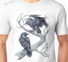 Hugin and Munin Unisex T-Shirt