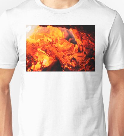 FIRE IN THE HOLE Unisex T-Shirt