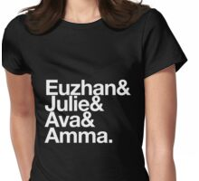"Black Women in Film: The ""Euzhan"" Womens Fitted T-Shirt"