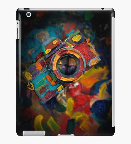 colorful photograph camera iPad Case/Skin