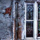 Rustic Church Windows by Dana Horne