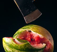 I Hate Fruit - Watermelon by Alan Organ