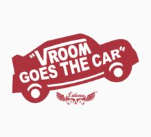 Vroom Goes the Car Kids Tee