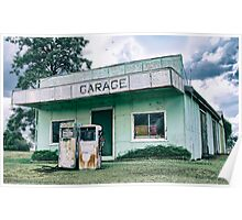 Kulpi Garage in The Darling Downs Queensland Australia Poster