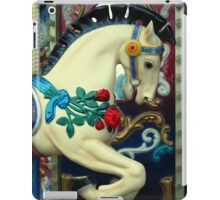 horse in carousel iPad Case/Skin