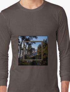 awesome ruby beach, wa (2x square) Long Sleeve T-Shirt