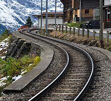 On the Tracks to Mürren by MichaelJP