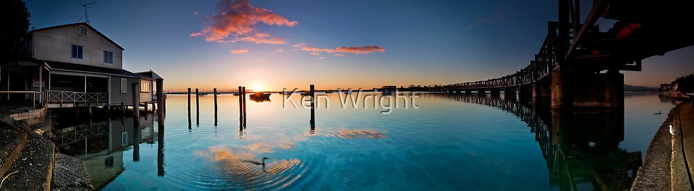 Harbourside Blush by Ken Wright