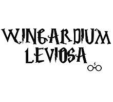 Wingardium leviosa charm - Harry Potter Photographic Print