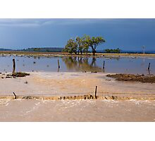 Flood Water in the Darling Downs 2014 Photographic Print