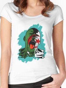 Algeria Scream Women's Fitted Scoop T-Shirt